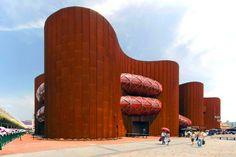 Australia Pavilion designed by Wood Marsh. Shanghai Expo 2010.