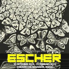 #info Durante la sua vita M.C. #Escher produsse 448 litografie, xilografie e incisioni su legno e oltre 2000 disegni e schizzi