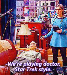 """Amy and Sheldon's hobbies 