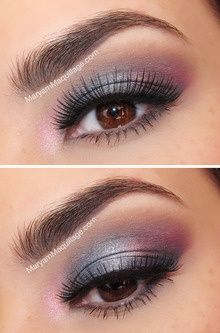 This site has SO MANY different eye makeup styles! I could look at this forever!!! Fratto