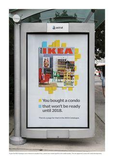 Read more: https://www.luerzersarchive.com/en/magazine/print-detail/ikea-53776.html Ikea Tags: Leo Burnett, Toronto,Judy John,Ikea,Anthony Chelvanathan,Steve Persico,Lisa Greenberg