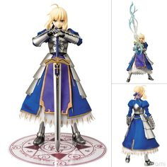 Fate/Zero - Saber - Real Action Heroes #619 - 1/6 (Medicom Toy) ; Out of Print
