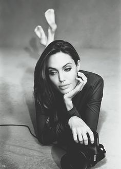 Angelina Jolie in the Alexei Hay Photoshoot for Marie Claire