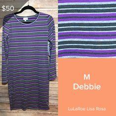 LuLaRoe Debbie Mens Tops