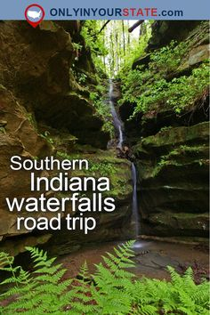 Travel   Indiana   Attractions   USA   Things To Do   Waterfalls Road Trip   Nature   Adventure   Places To Visit   Outdoors   Waterfalls   Southern Indiana   Road Trips   Destinations   Day Trips   Visit   Hoosier State   State Forest   Explore   Nature Preserve   State Parks