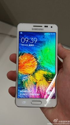 A white Samsung Galaxy Alpha makes a leaked Appearance - http://www.aivanet.com/2014/08/a-white-samsung-galaxy-alpha-makes-a-leaked-appearance/