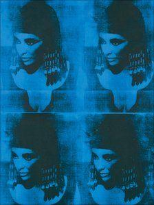 Blue Liz as Cleopatra, Warhol 1962✖️FOSTERGINGER AT PINTEREST ✖️