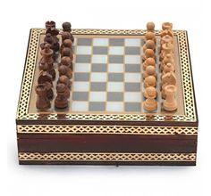 Handmade Rajasthani Gemstone Chessboard Game. #IndoorGame Shop Here -- http://trendybharat.com/Art-Crafts/Handicrafts