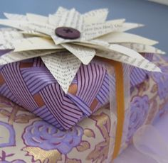 DIY:: Book page flower Tutorial  from room polish