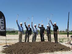 #Utah - Petzl groundbreaking for their new North American Headquarters in West Valley City, Utah