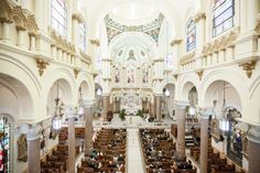 Tampa Wedding Ceremony Venue Sacred Heart Catholic Church | Tampa Wedding Photographer Rad Red Creative