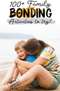 With our busy lives it's important to take some time for family bonding activities. Creating a strong attachment between young children and their parents is so important in their development. Doing small activities throughout the month will help your family grow a closer bond that will last a lifetime!