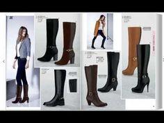 Botas y Botines Otoño/ Invierno 2016/2017/ Zapatos de moda para Mujeres - YouTube