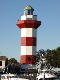 Harbour Town Lighthouse, Hilton Head , South Carolina