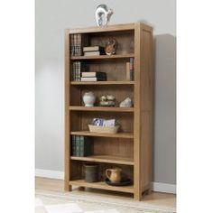 Lucerne Oak 6FT Bookcase