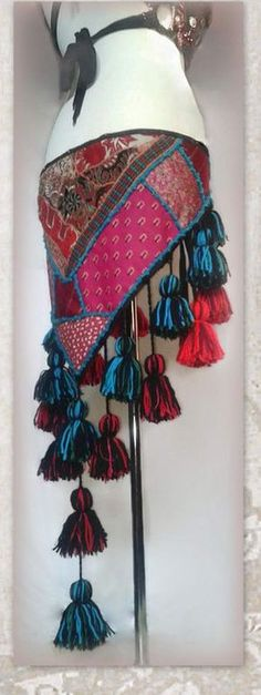 Top Set Belly Dance Costume Tribal Gypsy Club Dress27 Color TMS Satin Skirt