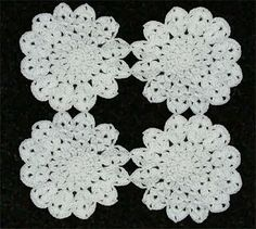 Crochet Geek : Simply Elegant Motif - Joining Together