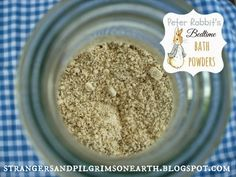 "Peter Rabbit's ""Bedtime Blend"" Chamomile Bath Powder"