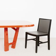 Table Ybu Laque Chaise Vic Pad 2 - Christophe Delcourt