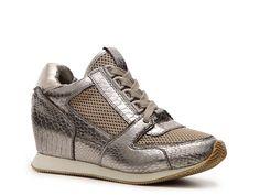 N.Y.L.A. Hannah Wedge Sneaker. Love this sneaker, very attractive!!!