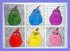 Made by students of grade 6 You need: piece of cardboard 9 by 9 cm drawing paper 20 by 29 cm colour pencils or markers fine black marker Dr...