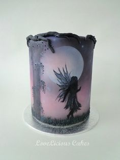 CAKE ART! ~ Fairytale Hand painted Cake  ~ all edible  cake.
