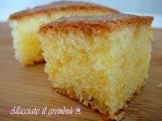 TORTA 1 MINUTO ALL'ACQUA   Allacciate il grembiule! Sweet Recipes, Cake Recipes, Dessert Recipes, Sweet Light, Torte Cake, Italian Desserts, Sweet Cakes, Sweet Bread, Food Menu