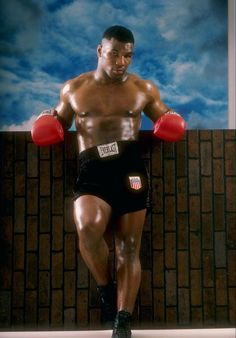 A young Mike Tyson