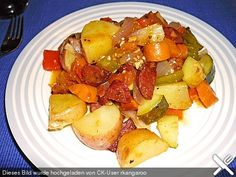 Chorizo - Gemüsepfanne aus dem Ofen, ein sehr leckeres Rezept aus der Kategorie Gemüse. Bewertungen: 43. Durchschnitt: Ø 4,3.
