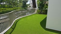 Artificial grass products are available for all garden solutions. Namgrass artifical grass is active in over 25 countries worldwide. Garden Solutions, Singapore, Grass, Sidewalk, Deck, Country, Outdoor Decor, Rural Area, Decks