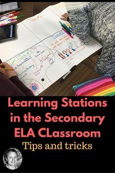 Learning Stations In Secondary ELA Classrooms - David Rickert