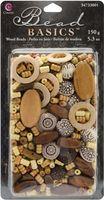 #1 Jewelry Basics Wood Bead Mix Assorted - 5.3 oz., (1213713)