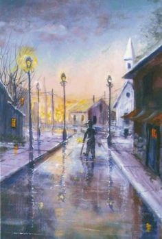 PBS Artist Jerry Yarnell 'Reflective Stroll' instructional dvd in acrylics