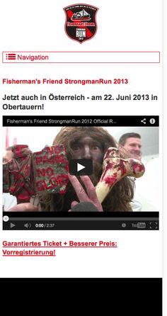 Die offizielle Seite im responsive Webdesign vom Fisherman`s Friend Strongmanun 2013 in Obertauern / Österreich - www.strongmanrun.at