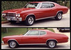 1970 Chevelle Malibu 2-door sport coupe