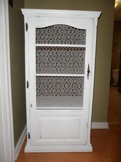 Stereo cabinet to kitchen cabinet up cycle, anew nature, St.Louis mo/   This is what my sister made for me!