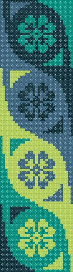 Bookmark 3. Free cross stitch pattern | Better Cross Stitch
