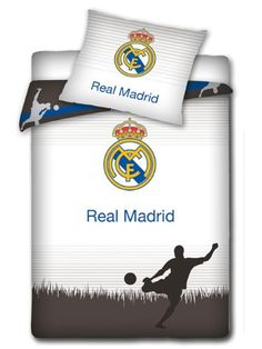 Amazon.com: Real Madrid CF Player Single Duvet Cover Set: Home & Kitchen
