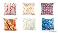 Non-Grandma Floral Pillows | Rue