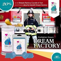 Giving back feels oh so good...and has never been easier! Help make a difference by purchasing any Japanese Cherry Blossom or Australian Bamboo scented candle or tart and 20% will be directly donated to Dream Factory National Headquarters.  #DreamFactory #MakeADifference #JICGivesBack #PayItForward