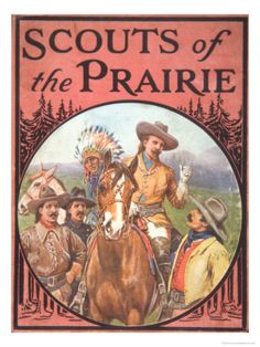 First Old West show starring Buffalo Bill Cody and Texas Jack Omohundro. The script was wriiten by Ned Buntline.
