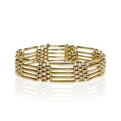 Gold Bracelet 585  Gold-Gliederarmband in 585 Gelbgold