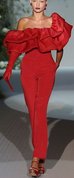 Nothing found for Jumpsuits 3257 Roberto Verino Mercedes Benz Fw Madrid Primavera Verano 2013 See More About Madrid Red And Jumpsuits Red Fashion, Couture Fashion, Runway Fashion, High Fashion, Mein Style, Simply Red, Hot Lingerie, Lady In Red, Passion For Fashion