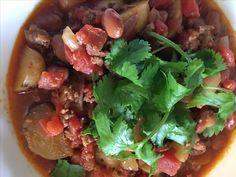 Chorizo Chili {Crockpot} Mexican Sausage, Chorizo, Crockpot, Chili, Spicy, Beef, Dishes, Ethnic Recipes, Food