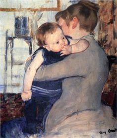 Mother And Child - Mary Cassatt, 1889