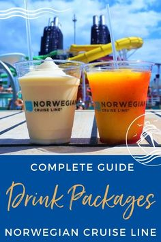 Complete Guide to Norwegian Cruise Line Drink Packages (2021) - Our Complete Guide to Norwegian Cruise Line Drink Packages (2021) covers all the plans and pricing to help you decide if they are worth it. #cruise #cruiseplanning #cruisedrinks #eatsleepcruise