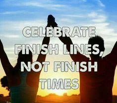 Finish lines...