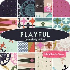 Playful Collection by Melody Miller, Cotton + Steel