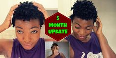 5 Months post big chop! :)