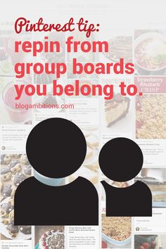 Pinterest tip: It is crucial to repin other blogger's pins from group boards. | via @borntobesocial